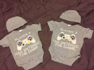 player 3 has entered the games onsie