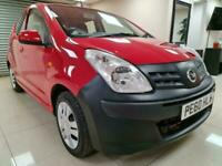 Nissan Pixo 1.0 N-TEC Red Hatchback £20 Tax 74MPG WARRANTY 12 MONTHS MOT FSH