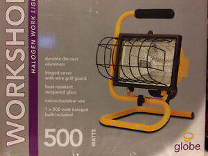 500W Portable Halogen Work Light