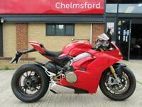 Ducati PANIGALE V4 S 2018 Model - ONLY 1600 MILES, IMMACULATE, REARSETS