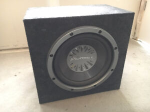 12 inch 1200W subwoofer in box