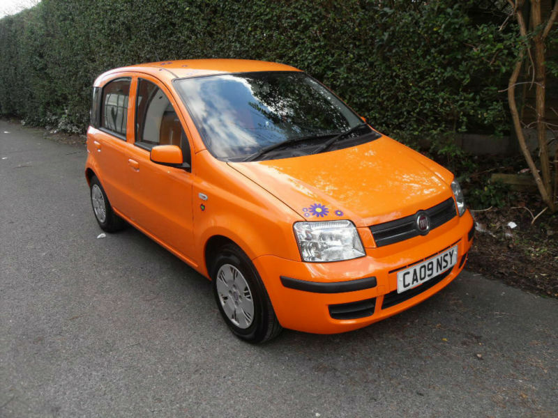 fiat panda 1 2 mamy orange 5 door in stockport manchester gumtree. Black Bedroom Furniture Sets. Home Design Ideas