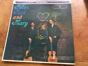 PETER PAUL AND MARY FIRST ALBUM