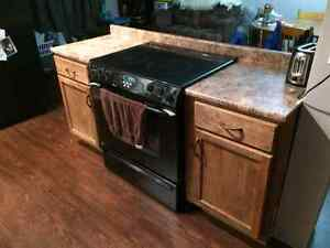 2 bottom cabinets for sale
