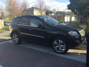 2011 Mercedes-Benz ML350 Blutec SUV   [Backup Cam, Sunroof, GPS]