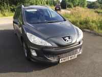 2009 Peugeot 308 SW 1.6 Hdi 7 Seater 1 Owner Superb Condition Full Service History Timing Belt Done