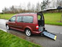 2012 Volkswagen Caddy Maxi Life 1.6TDI, Automatic. WHEELCHAIR ACCESSIBLE WAV