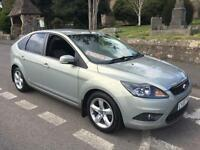 2008 58 FORD FOCUS 1.6 TDCi 110 TURBO DIESEL ZETEC 5 DOOR HATCH 5 SPEED MANUAL
