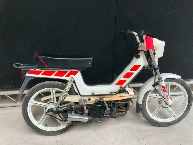 Yamaha yamy 50cc pedal and go moped | in Hook, Hampshire | Gumtree