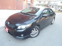 2009 TOYOTA COROLLA TYPE-S ,AUTO ,LOADED ,SUNROOF , SPOILER! City of Toronto Toronto (GTA) Preview