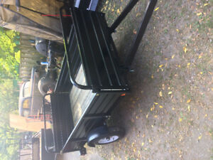 "BRAND NEW  2000 Lb axle 4' 4"" x 7 FT UTILITY TRAILER"