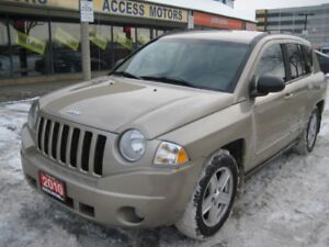 2010 Jeep Compass, 4x4, Certified ! Auto, Very Clean, Quick Sale
