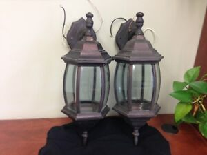 Set of Two Outdoor Lights
