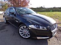 2013 Jaguar XF 2.2d [200] Portfolio 4dr Auto 1 Owner! Parking Pack! 4 door S...