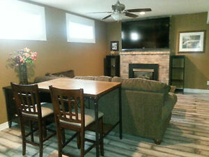 Furnished suite centrally between Orangeville and Alliston