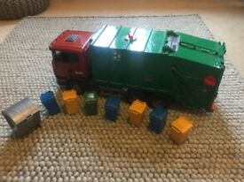 Toy Rubbish Lorry - Bruder