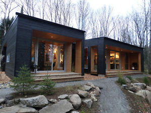 Contemporary residence on the waterfront near Mont-Tremblant ,QC