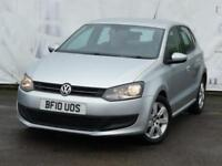 2010 VOLKSWAGEN POLO 1.2 SE 5 DOOR 7 SERVICE STAMPS LOW INSURANCE IDEAL FIRST CA