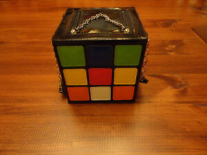 Rubix Cube purse handbag