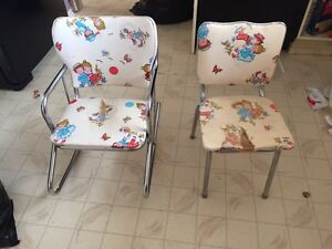 Vintage baby chairs