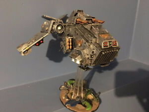 Warhammer 40k Stormraven Model (painted and based)