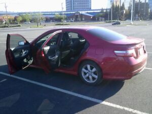 Toyota Camry 2007 - Red - Sport Edition - Black leather