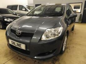 TOYOTA AURIS T3 VVT-I Grey Manual Petrol, 2007