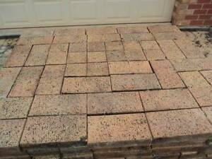Recycled clay Pavers, 80sqm AUTUMN GOLD,  150sqm RED..ON PALLETS North Plympton West Torrens Area Preview