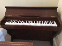 Barrett & Robinson mini upright piano