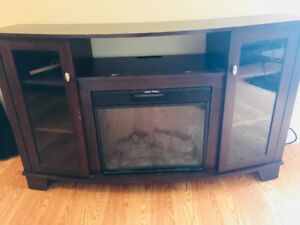 T.V Stand / Electric Fire Place