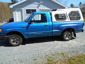 ----1999 MAZDA 1/4 TON COMPLETE OR PARTS---RUNS WELL-------