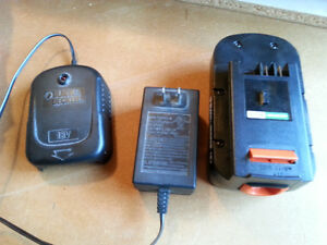 Wanted Black & Decker 18v Battery charger