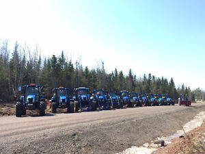 Farm tractors for rent OR hire