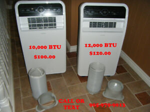 Huge Savings PORTABLE AIR CONDITIONERS  10,000 AND 12,000 BTU