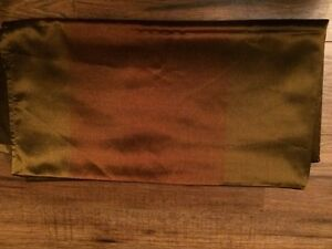 4 Panel Curtains and Matching Pillows For Sale