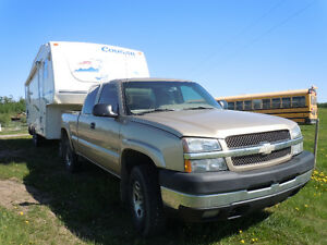 Truck and Fifth Wheel package