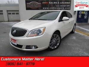 2012 Buick Verano Leather Package  SUNROOF, BOSE, HEATED SEATS,