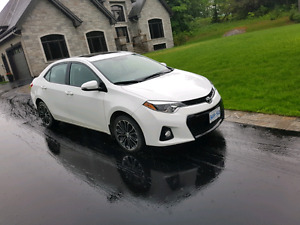 2015 TOYOTA COROLLA S  LEASE TAKE OVER OR SELL