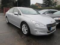 2012 62 Peugeot 508 2.0 HDi 140 Active Silver