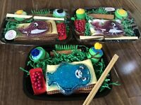 Baby gift, sushi set! Unique, cute! Shower! First birthday! NEW!