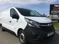 2015 15 Vauxhall Vivaro 1.6CDTi 115PS 2900 LONG WHEEL BASE LOW ROOF VAN