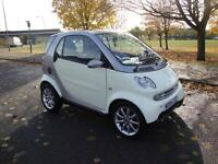 Smart City Fortwo Passion 0.7 Auto, Only 58k FSH, 2006, £30 Rd Tax