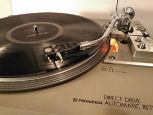 Table tournante Pioneer PL-518 Direct Drive