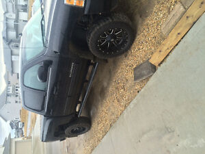 2012 Chevrolet 1500 lifted