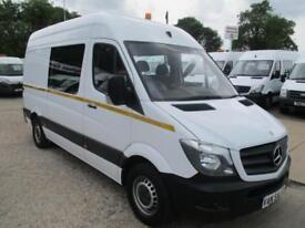 15 reg MERCEDES BENZ SPRINTER 313 MESSING UNIT, CREW, MESS, WELFARE TOILET VAN
