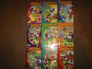 Larry Boy Veggie Tales series