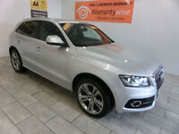 2011 Audi Q5 2.0 TDI QUATTRO S-LINE S/E S-T ***BUY FOR ONLY £74 PER WEEK***