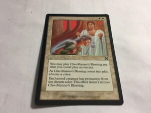 Cho-Manno's Blessing  Mercadian Masques MTG Magic Unplyd NM -MT.