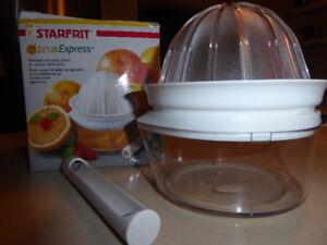presse et coupe agrumes Starfrit , citrus express