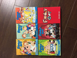 Family Guy volume 1-6 all disks included